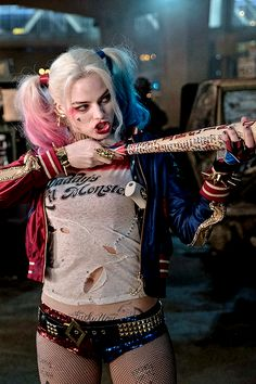 "Margot Robbie as Harley Quin in ""Suicide Squad"" (Aug. 2016)"