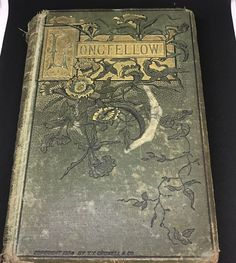 Early Poems Henry Wadsworth Longfellow Antique Victorian Decor Ornate 1884  | eBay