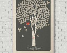 Wedding Tree Wedding Tree Keepsake Wedding by MarshmallowInkLLC