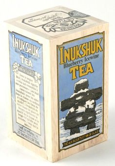 Specialty Gourmet Inukshuk Blueberry Icewine Black Tea Blend, 25 Bags in a Decorative Collectible Wooden Crate Metropolitan Tea http://www.amazon.com/dp/B001LYCBRY/ref=cm_sw_r_pi_dp_hcVNvb1BX9B4B
