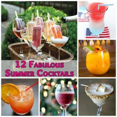 Summer Cocktail Recipes from TheCosmoMoms.com