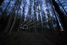 Nathaniel Rackowe, Spin, Reveal, Forest of Dean Sculpture Park