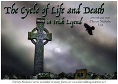 """Irish legends and tales are one of the only clues we have to life before the arrival of Christian monks to the island.   The people who lived there before """"the Age of Saints and Scholars,"""" as this time was known, did not write down their tales. Instead, the stories were passed verbally from generation to generation. Read the rest of this article in Celtic Guide""""s February 2016 issue.   All issues are FREE at www.celticguide.com"""