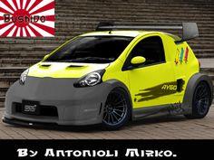 Toyota Aygo Crazy Concept.