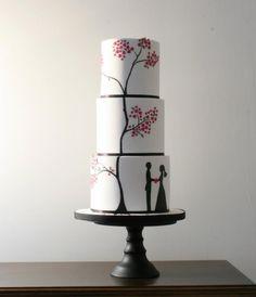 Wedding Cake by Cake Face