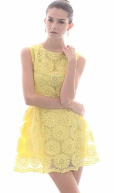Lace Summer Dresses, Cute Dresses, Lace Dress, Pretty Outfits, Beautiful Outfits, Cute Outfits, Beautiful Women, Sara Anderson, Mode Cool