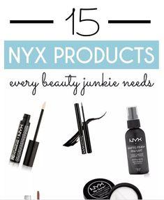 15 NYX Products Every Beauty Junkie Needs. #beauty&makeup #beauty #makeup #nyx