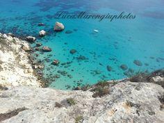 Vista mare Sella del Diavolo , Cagliari , Sardegna , Italia