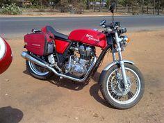 Royal Enfield Cafe Racer testing in Karnataka