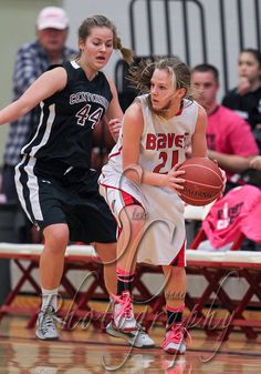 That awkward moment when you grow a beard during basketball..