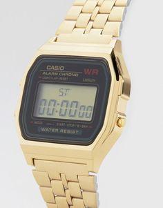Casio | Casio A159WGEA-1EF Gold Digital Watch at ASOS