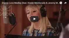 This is one of the most beautiful Disney medleys I have heard. Kirstin Maldonado and Jeremy Michael Lewis will pull your heart strings. Practice
