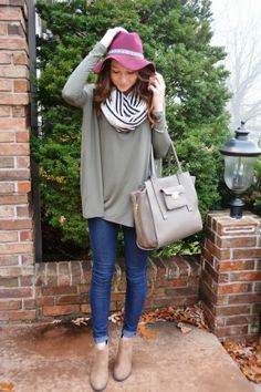 How to do slouchy but still look presentable. It's all about the balance!