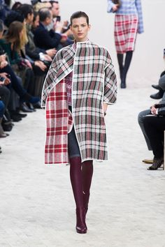 #Fall is Mad for #Plaid - #Celine Fall/Winter 2013