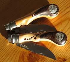 Opinel ножи резные Игоря CHARON - инкрустациями