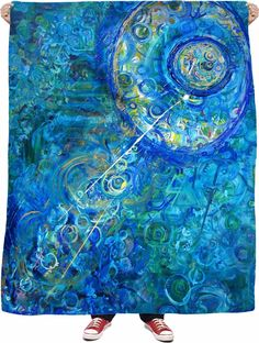 """""""Into the Blue"""" Blanket"""