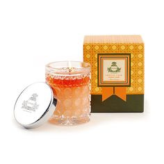 Agraria Bitter Orange Crystal Cane Candle $35  http://www.agrariahome.com/bitter-orange-petite-crystal-cane-candle/