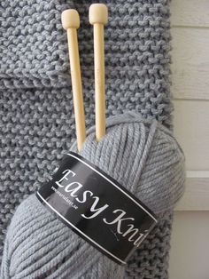 by cila: Lättstickad tröja. Knit Vest Pattern, Sweater Knitting Patterns, Easy Knitting, Knit Patterns, Knitted Afghans, Knitted Hats, Big Knits, Wie Macht Man, Knitting Projects