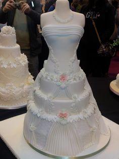 mannequins babyshower | Wedding Dress Cake - Cake Decorating Community - Cakes We Bake