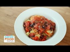 Chicken Puttanesca with Orzo - Everyday Food with Sarah Carey