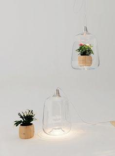 « Milo » est une lampe d'intérieur conçue par les designers de Lightovo. Cette lampe sert à apporter davantage de lumière à des fleurs ou des plantes que l'on peut disposer à l'intérieur de la vitre. Une manière intelligente d'entretenir des plantes grâce à des LED et de donner encore plus d'utilité à un luminaire. A découvrir