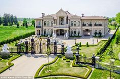 The 24,000 Square Foot  $17.8 Million Mansion Château de Versailles, Toronto, Canada: Mansion built by couple for 18th century-themed wedding