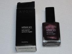 Avon Nail Wear Pro Enamel Night Violet 12 ml 0.4 fl oz nail polish mani pedi;; #Avon