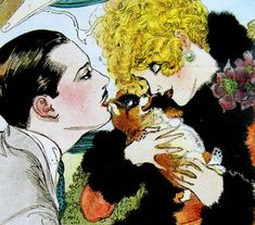 "Nell Brinkley – was an American illustrator and comic artist who was sometimes referred to as the ""Queen of Comics"" during her nearly four-decade career working with New York newspapers and magazines. Art And Illustration, Vintage Illustrations, Ghibli, Victorian Jewelry, Comic Artist, American Artists, Vintage Posters, Vintage Art, Vintage Style"