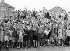 1964 playground in Ballyfermot,Dublin Ireland Pictures, Images Of Ireland, Old Pictures, Old Photos, Dublin Street, Dublin City, Irish American, American Girl, Irish Celtic