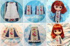 Cath Kidston Blythe dress, Blythe shift dress, Blythe DIY, Blythe pattern