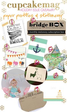 WIN IT! Paper Pretties Giveaway - Over $175 Worth of Prints, Cards, Tags & More!