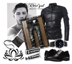 """""""Rosegal"""" by airin-flowers ❤ liked on Polyvore featuring Stacy Adams, Frédérique Constant, men's fashion and menswear"""