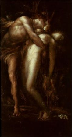 Orpheus and Eurydice - George Frederick Watts