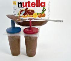 Rumkihn Crafts: Nutella Pudding Pops