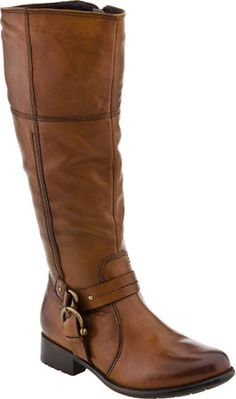 Clarks Plaza Pug women's boots (Tan Leather)