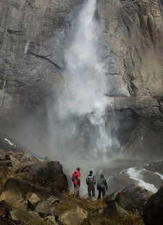 Hiking Upper Yosemite Fall