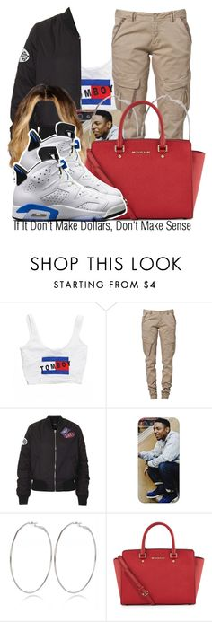 """"""";)"""" by nasiaamiraaa ❤ liked on Polyvore featuring O-Mighty, CREAM, Topshop, River Island, MICHAEL Michael Kors, NIKE and NanaOutfits"""