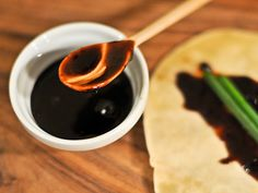 Hoisin Sauce recipe. Especially great since hoisin in stores is full of HFCS and other crap.