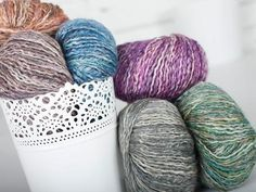 Check out Rowan Silkystones Yarn  on Craftsy! - Shop Craftsy's premiere assortment of knitting supplies and save! Get the Rowan Silkystones Yarn  before it sells out. - via @Craftsy