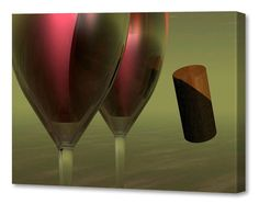 Menaul Fine Art 'New World Wine' by Scott J. Menaul Graphic Art on Wrapped Canvas Size: Artist Canvas, Canvas Paintings, Fall Mantel Decorations, Painting Techniques, Online Art Gallery, Canvas Size, Canvas Fabric, New Art, Wrapped Canvas