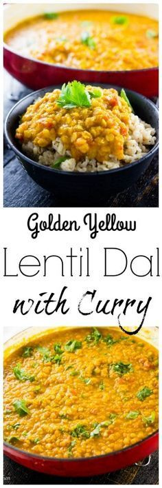 This easy and delicious yellow lentil dal is full of protein and bright flavors!
