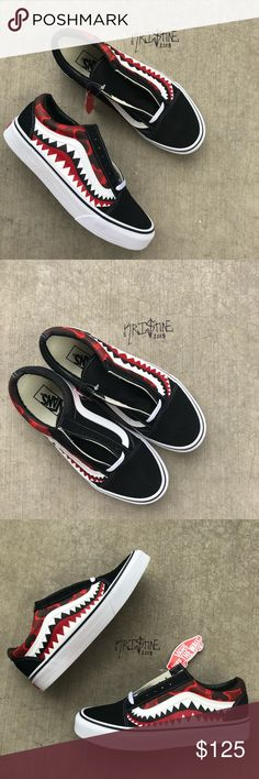 9c66a1b2a053ad MEN Bape Customs Old Skool Vans