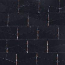 Stone a' la Mod - Tiles | Daltile  Wedge Polished Nouveau Nero M312