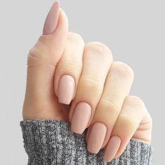 +10 Top Nude Nails – gel nails design 2018