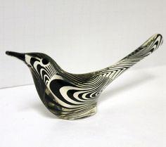 Vintage Abraham Palatnik Bird Acrylic Figure