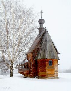 Coffeenuts wooden church