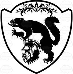 Black And White Coat Of Arms With Wolverine, Helmet And Florish Detail Inside Geometric Plaque Shield #achievement #ages #armorial #arms #army #bearings #cities #coat #country #crest #european #family #fight #heraldic #king #medieval #middle #military #nations #PDF #queen #roaylty #state #symbol #universities #vectorgraphics #vectors #vectortoons #vectortoons.com