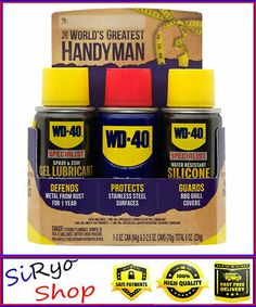 Sponsored Ebay Wd 40 Handyman Trio Multi Use Gel Lubricant Water Resistant Silicone Cleaning And Janitorial Supplies Business And Industrial In 2019 Wd 40 Janitorial Supplies Janitorial