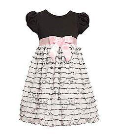 Bonnie Jean 2T-6X Eyelash Ruffled Dress | Dillards.com