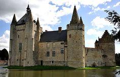 Kasteel van Laarne (Laarne hrad), Laarne, Východní Flandry, Belgie.